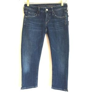 Citizens of Humanity Racer Lowrise Skinny Crop